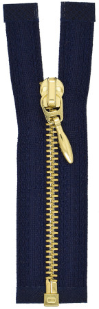 VT0 close end brass zipper