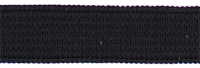 Gumiszalag fekete 12mm