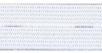 Gomblyukas gumiszalag fehér 18mm