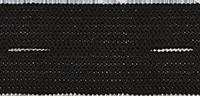 Gomblyukas gumiszalag fekete 18mm